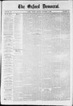 Oxford Democrat : Vol. 36, No. 38 - October 08, 1869