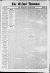Oxford Democrat : Vol. 36, No. 39 - October 15, 1869
