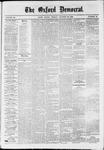 Oxford Democrat : Vol. 36, No. 40 - October 22, 1869
