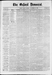 The Oxford Democrat : Vol. 36, No. 43 - November 12, 1869