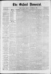 Oxford Democrat : Vol. 36, No. 43 - November 12, 1869