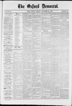 Oxford Democrat : Vol. 36, No. 45 - November 26, 1869