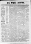 The Oxford Democrat : Vol. 36, No. 46 - December  03, 1869
