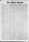 The Oxford Democrat : Vol. 36, No. 47 - December  10, 1869