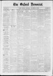 Oxford Democrat : Vol. 36, No. 48 - December 18, 1869