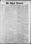 The Oxford Democrat : Vol. 48, No. 52 - January 03,1882