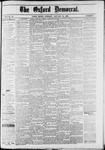 Oxford Democrat : Vol. 49, No. 3 - January 24,1882