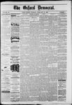 The Oxford Democrat : Vol. 49, No. 7 - February 21,1882