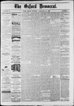 The Oxford Democrat : Vol. 49, No. 8 - February 28,1882