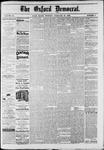 Oxford Democrat : Vol. 49, No. 8 - February 28,1882