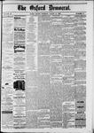 Oxford Democrat : Vol. 49, No. 10 - March 14,1882