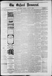 Oxford Democrat : Vol. 49, No. 11 - March 21,1882