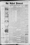 Oxford Democrat : Vol. 49, No. 13 - April 04,1882