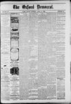 Oxford Democrat : Vol. 49, No. 14 - April 11,1882