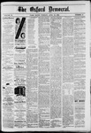 The Oxford Democrat : Vol. 49, No. 15 - April 18,1882