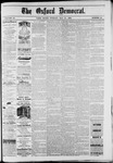 The Oxford Democrat : Vol. 49, No. 19 - May 16,1882