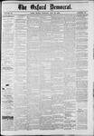 The Oxford Democrat : Vol. 49, No. 20 - May 28,1882