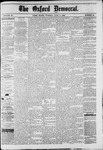 The Oxford Democrat : Vol. 49, No. 22 - June 06,1882