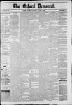Oxford Democrat : Vol. 49, No. 22 - June 06,1882