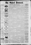 Oxford Democrat : Vol. 49, No. 24 - June 20,1882