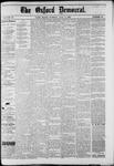 Oxford Democrat : Vol. 49, No. 26 - July 04,1882