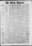 Oxford Democrat : Vol. 49, No. 33 - August 22,1882