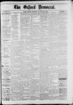 Oxford Democrat : Vol. 49, No. 34 - August 29,1882