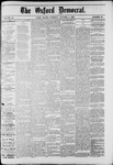 Oxford Democrat : Vol. 49, No. 39 - October 03,1882