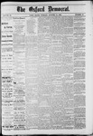 The Oxford Democrat : Vol. 49, No. 40 - October 10,1882