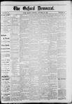 Oxford Democrat : Vol. 49, No. 42 - October 24,1882