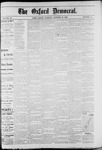 Oxford Democrat : Vol. 49, No. 43 - October 31,1882