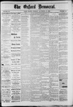 The Oxford Democrat : Vol. 49, No. 45 - November 14,1882