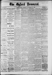 The Oxford Democrat : Vol. 49, No. 46 - November 21,1882