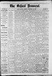 Oxford Democrat : Vol. 49, No. 47 - November 28,1882