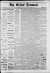 The Oxford Democrat : Vol. 49, No. 49 - December 12,1882