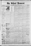 The Oxford Democrat : Vol. 50. No.1 - January 09, 1883
