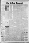 Oxford Democrat : Vol. 50. No.2 - January 16, 1883