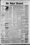 Oxford Democrat : Vol. 50. No.3 - January 23, 1883