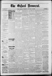 The Oxford Democrat : Vol. 50. No.4 - January 30, 1883