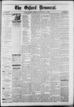 Oxford Democrat : Vol. 50. No.5 - February 06, 1883