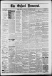 The Oxford Democrat : Vol. 50. No.6 - February 13, 1883