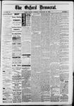 Oxford Democrat : Vol. 50. No.8 - February 27, 1883