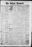 Oxford Democrat : Vol. 50. No.9 - March 06, 1883