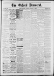 The Oxford Democrat : Vol. 50. No.10 - March 13, 1883