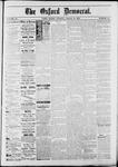 Oxford Democrat : Vol. 50. No.10 - March 13, 1883