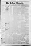 The Oxford Democrat : Vol. 50. No.11 - March 20, 1883