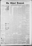 Oxford Democrat : Vol. 50. No.11 - March 20, 1883