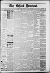 Oxford Democrat : Vol. 50. No.12 - March 27, 1883