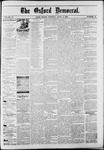 The Oxford Democrat : Vol. 50. No.13 - April 03, 1883