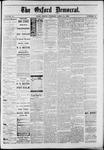 Oxford Democrat : Vol. 50. No.14 - April 10, 1883